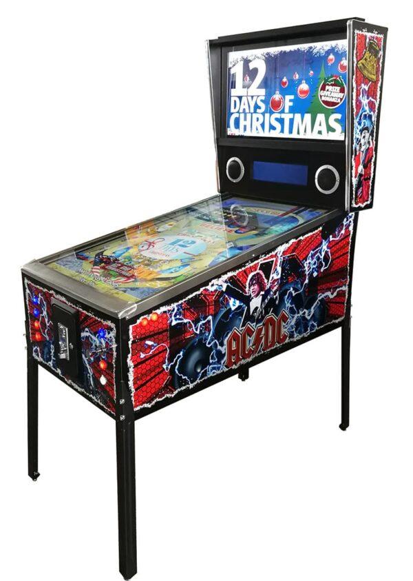 Virtual Pinball Machine with AC/DC graphics