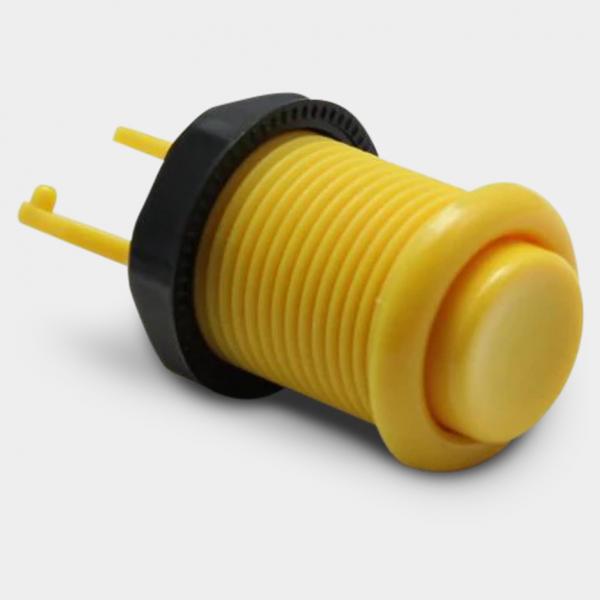 yellow arcade cabinet button