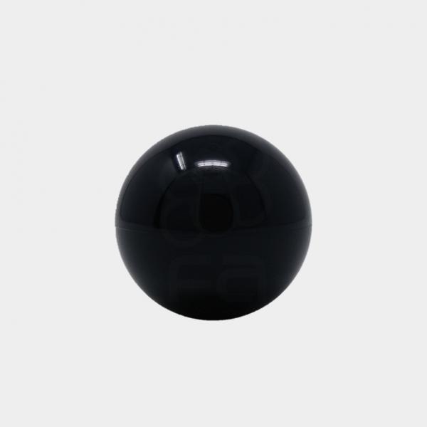 black arcade joystick top
