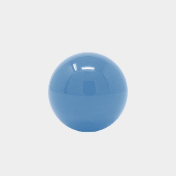 blue arcade joystick top