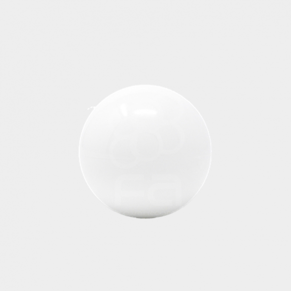 white arcade joystick top