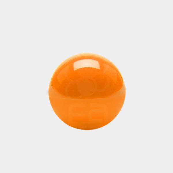 orange arcade joystick top