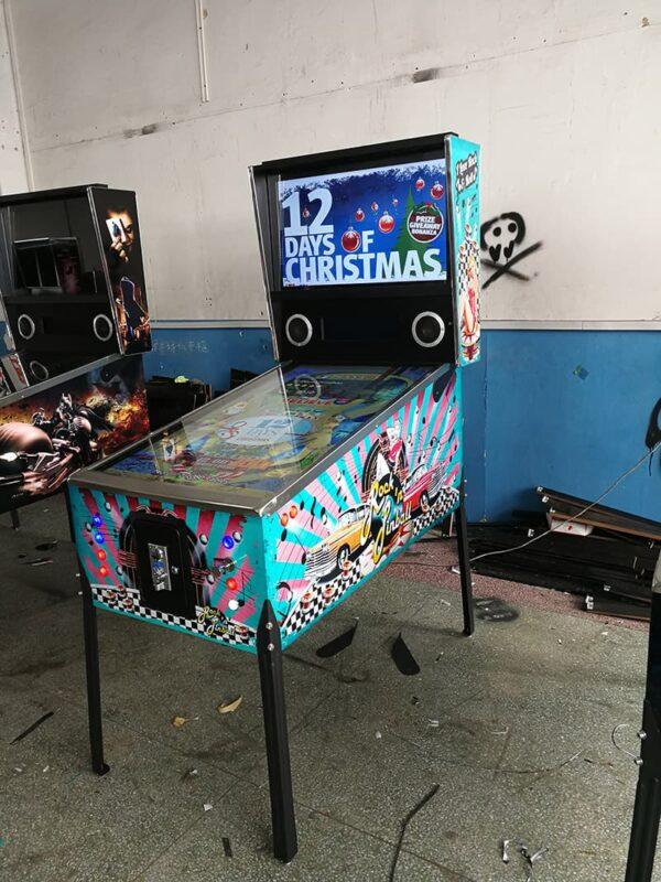 Virtual Pinball Machine with classic graphics