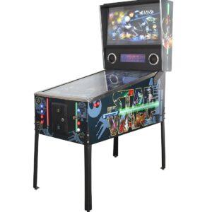 vitrual pinball machine with Star Wars Graphics