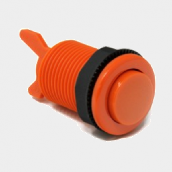 orange arcade cabinet button