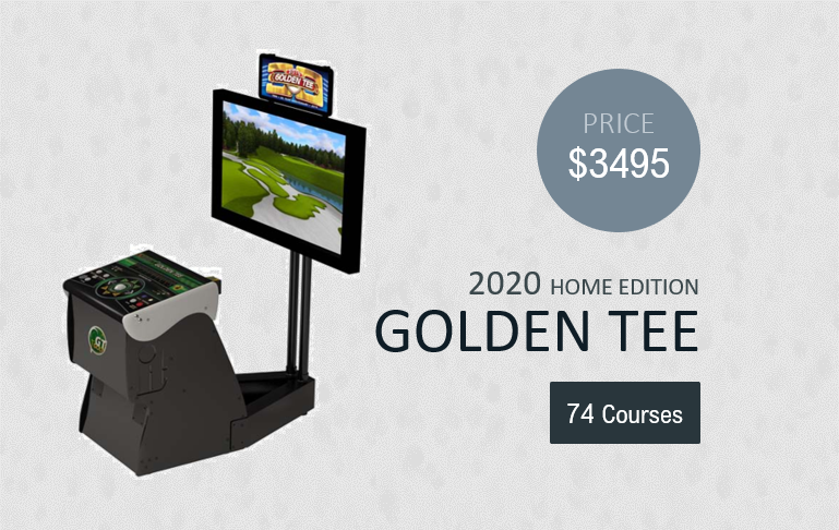 2020 Golden Tee Home Edition product image