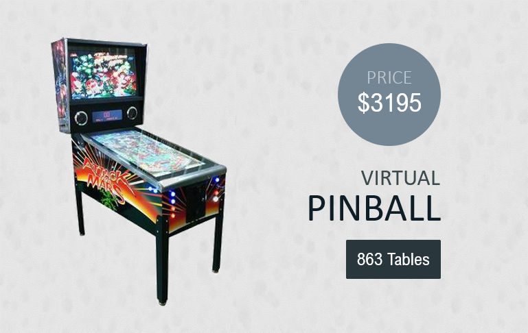 virtual pinball machine product image