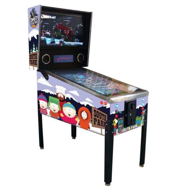South Park Themed Virtual Pinball Machine