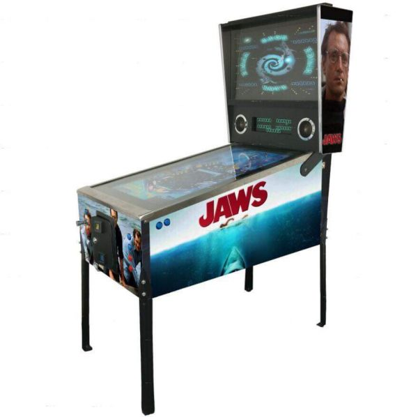 jaws themed virtual pinball machine
