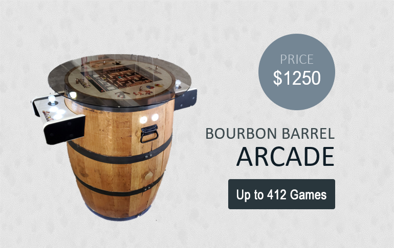 bourbon barrel arcade banner
