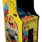 pacman upright arcade machine