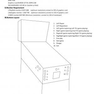 Virtual Pinball Machine Manual